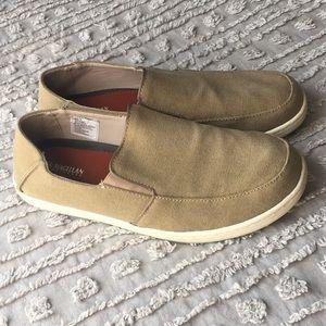 Magellan men's lightweight canvas loafers sz 10